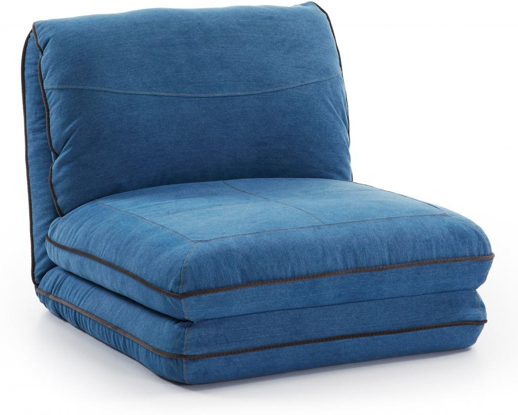 Een Persoon Slaapbank.Loungestoel En 1 Persoons Bed Moss Blauw La Forma Lil Nl